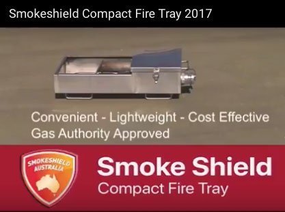 Compact Fire Tray for Fire Extinguishing Training